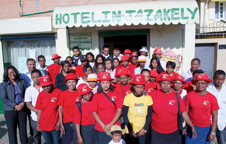 Collaborer pour répondre à un besoin pour les populations moins favorisées: Nutri'zaza à Madagascar