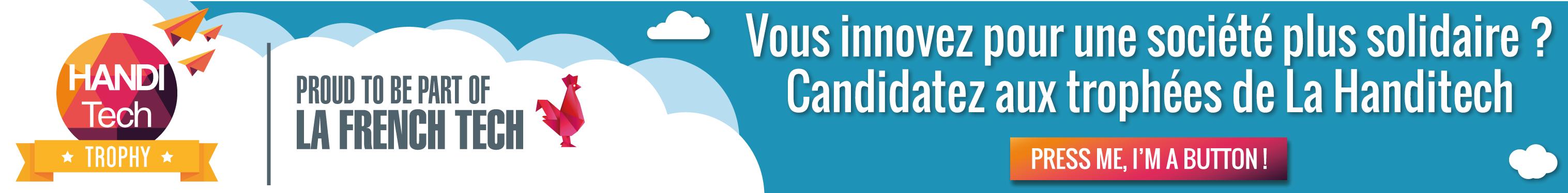 APPEL A PROJET: La Handitech lance ses trophées 2018!