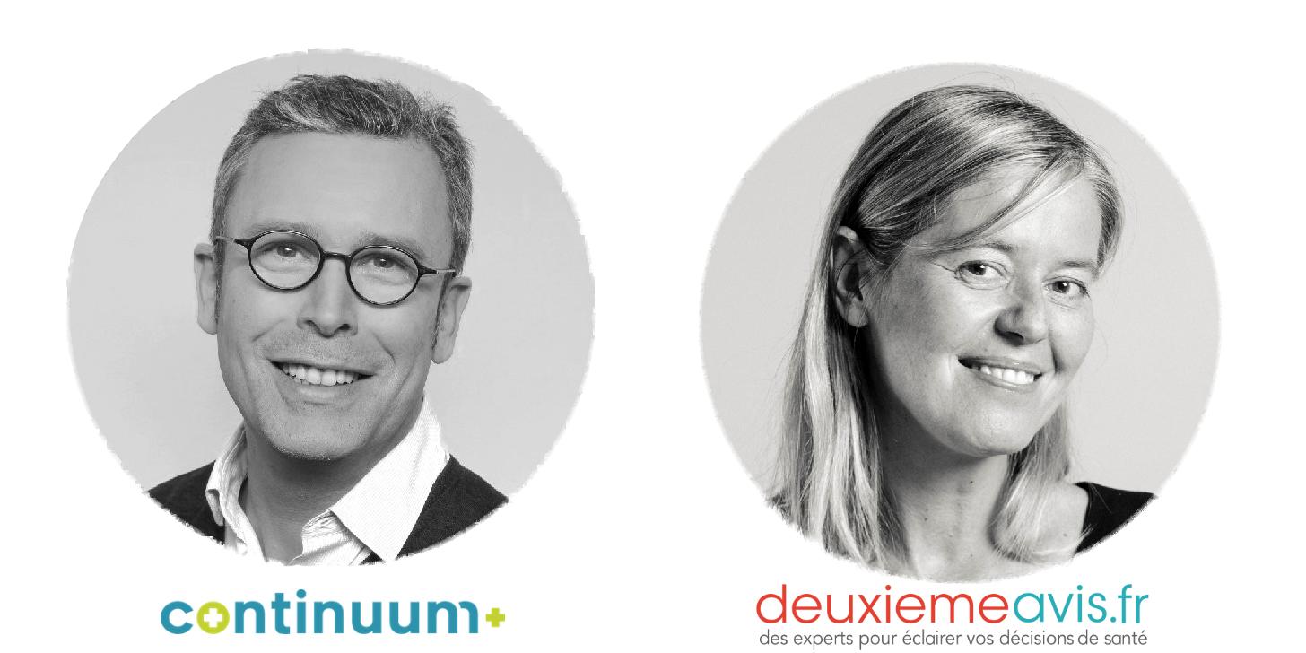 Interview croisée de Pauline de Deuxièmeavis.fr et Guillaume de Continuum+